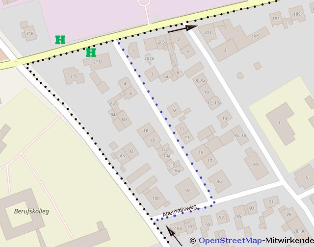 Joggen in der Stadt und die Fußgänger
