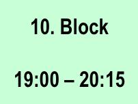Den Tag in Blöcke aufteilen um effizienter zu leben 10-Block