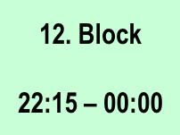 Den Tag in Blöcke aufteilen um effizienter zu leben 12-Block